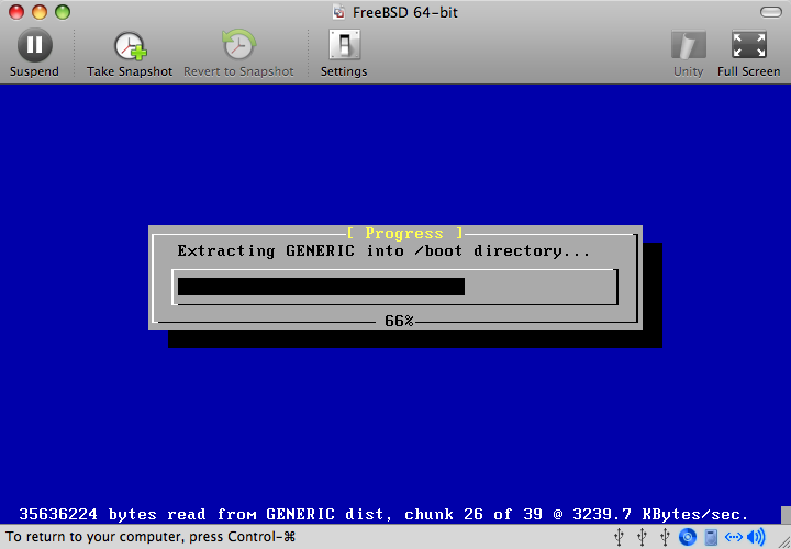 FreeBSD as a Guest OS